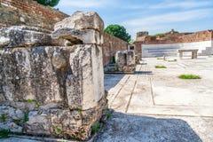 Ancient Greek City Lydia Roman Empire Sardes Sardis Royalty Free Stock Photo