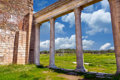 Ancient Greek City Lydia Roman Empire Sardes Sardis. It is in the middle of Hermus Valley in Turkey Stock Image