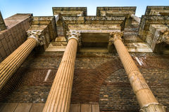 Ancient Greek City Lydia Roman Empire Sardes Sardis Royalty Free Stock Photos