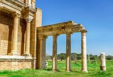 Ancient Greek City Lydia Roman Empire Sardes Sardis Royalty Free Stock Photos