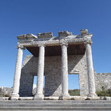 Ancient Greek city Miletus Turkey. The ruins of the ancient Greek city Miletus in Turkey Royalty Free Stock Photo