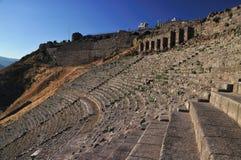 Ancient Greek City of Pergamon in Bergama, Turkey Royalty Free Stock Photos