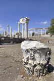 Ancient Greek City of Pergamon in Bergama, Turkey Royalty Free Stock Photo