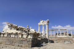 Ancient Greek City of Pergamon in Bergama, Turkey Stock Photography