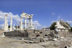 Ancient Greek City of Pergamon in Bergama, Turkey Royalty Free Stock Photo
