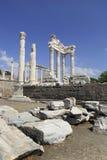 Ancient Greek City of Pergamon in Bergama, Turkey Stock Photo