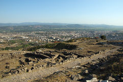 Ancient greek city of Pergamon Stock Image