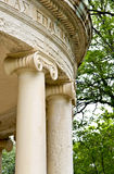 Ancient Greek classic temple. Ancient Greek temple (detail image Royalty Free Stock Photo