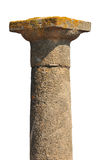 Ancient Greek column Stock Image