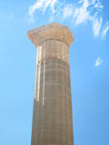 Ancient Greek column Stock Images
