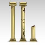 Ancient Greek columns 2 Stock Image