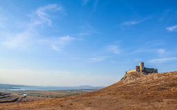Ancient greek fortress of Enisala in Dobrogea, Rom Stock Photos