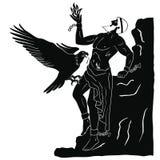 Ancient Greek god Prometheus. Stock Image