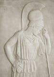 Ancient greek goddess Athena Royalty Free Stock Photo