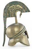 Ancient greek helmet Royalty Free Stock Photography