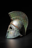 Ancient Greek Helmet Royalty Free Stock Photos
