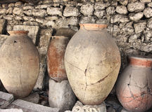 Ancient greek jugs Stock Photography