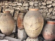 Ancient Greek Jugs Stock Photography