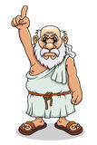 Ancient greek man Royalty Free Stock Photo