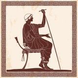 Ancient Greek man. Stock Photography