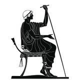 Ancient Greek man. Royalty Free Stock Photography