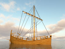 Ancient greek merchant ship Royalty Free Stock Image