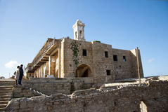 Ancient greek monastery Royalty Free Stock Photos