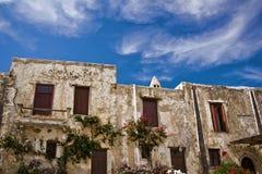 Ancient greek monastery Stock Photos