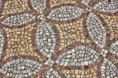 Ancient greek mosaic. For background Royalty Free Stock Photography
