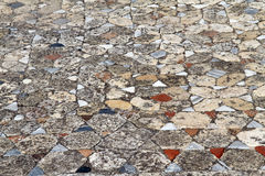 Mosaic on the floor Royalty Free Stock Photos