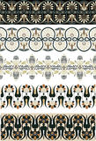 Ancient Greek ornament set for design Stock Images