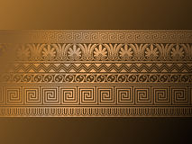 Ancient Greek ornaments. Royalty Free Stock Photos