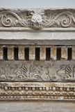 Ancient greek relief detail Royalty Free Stock Images