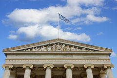 Ancient Greek Rhythm building Stock Photos