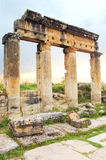 Ancient Greek and Roman city of Hierapolis Stock Photography