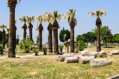 The ancient Greek and Roman city of Hierapolis Stock Image