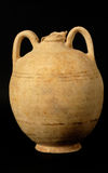 Ancient greek and roman vase. Vase from an excavation archeology stock images