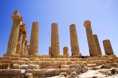 Ancient Greek ruins Royalty Free Stock Photos