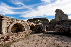 Ancient Greek ruins Royalty Free Stock Image