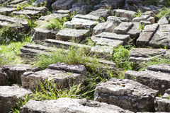 Ancient Greek ruins Stock Photo