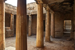 Ancient greek ruins in Cyprus Stock Photos