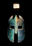 Ancient Greek Sparta Style Helmet Royalty Free Stock Photography