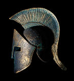 Ancient Greek Sparta Style Helmet Souvenir Royalty Free Stock Image