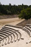 Ancient Greek Sports Stadium And Theatre Royalty Free Stock Photography