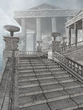 Ancient Greek stairs Royalty Free Stock Image