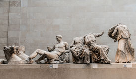 Ancient Greek Statues Stock Photography
