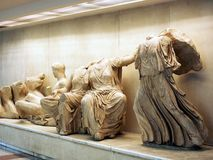 Ancient Greek Statues Stock Photo