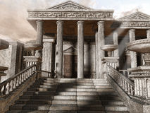 Free Ancient Greek Temple Royalty Free Stock Photos - 42088208