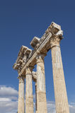 Ancient greek temple of Apollo Stock Photography