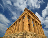 Ancient Greek temple of Concordia, Sicily Royalty Free Stock Image